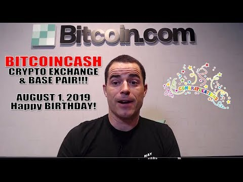 CONGRATULATIONS BITCOIN CASH [BCH] on LAUNCH OF NEW EXCHANGE AND BASE PAIRING! – BREAKING NEWS!