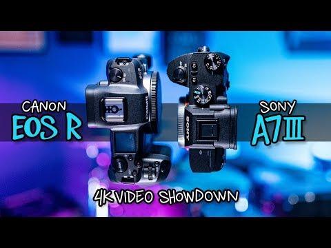 Canon EOS R vs Sony A7III 4K Video Showdown