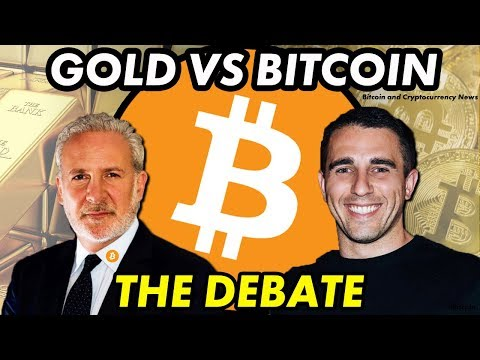 Bitcoin vs Gold Debate: Anthony Pompliano vs Peter Schiff