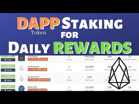 DAPP (EOS) Staking for Daily Rewards