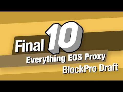 HKEOS Earns Everything EOS Proxy Vote! Stay tuned for the last 9 picks and their reasoning!