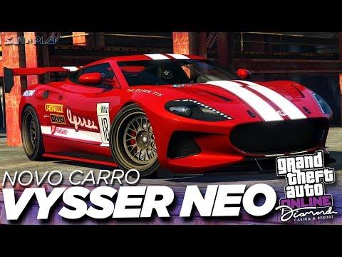 GTA Online: NOVO CARRO SUPER *Vysser Neo* MUITO RÁPIDO! – DLC The Diamond Casino & Resort