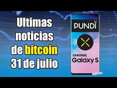 Samsung integra a Pundi X, bitcoin se recupera, tezos a coinbase, noticias 31 de julio