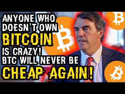 """Anyone Who DOESN'T OWN BITCOIN Is CRAZY, BTC Will NEVER Be This CHEAP AGAIN"" Tim Draper BLASTS TIP"