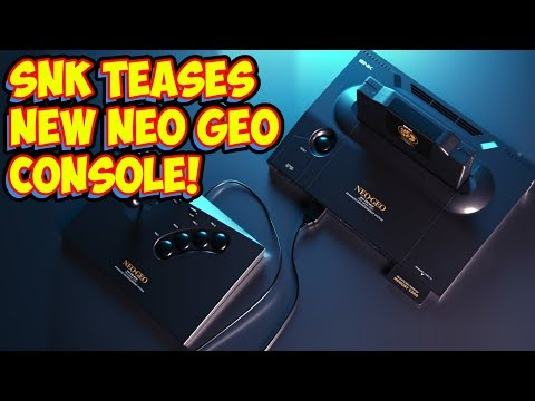 SNK Teases A New Next Gen Neo Geo Console! Is The World Ready?