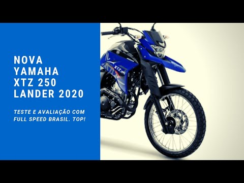 Nova Yamaha XTZ 250 Lander flex modelo 2020, Top! Super teste e avaliação!