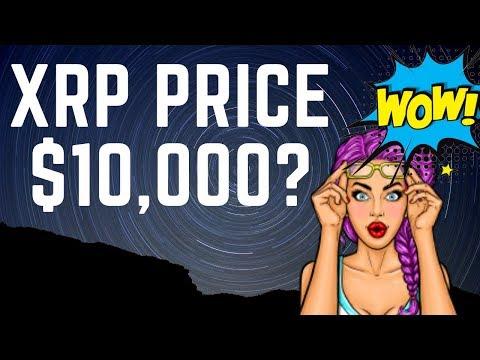 Price of XRP at $10,000? (Ripple XRP Fact Check)