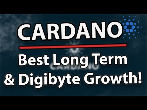 Cardano ADA Is The Best Long Term Coin & Digibyte DGB Showing Major Growth