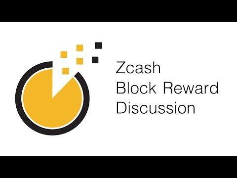 Zcash Block Reward Discussion