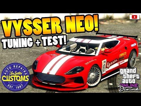 😅🛠Die Verschönerung Des VYSSER NEO! Tuning + Test!😅🛠 [GTA 5 Online Diamond Casino Update DLC]