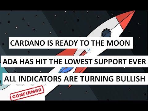ADA has hit the lowest support ever | The Cardano has completed the bullish setup.