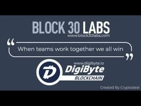 "DigiByte – Block 30 Labs ""Best North American Start Up – 2019"" – Bull Run Coming Soon?"