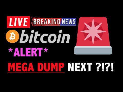 Bitcoin *ALERT* MEGA DUMP INCOMING?!❗️LIVE Crypto Trading Analysis & BTC Cryptocurrency Price News