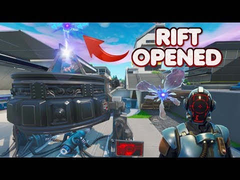 FORTNITE TILTED TOWN EVENT – SKY RIFT OPENED OVER NEO TILTED – RIFTBEACON ACTIVATED – UPDATE 10.1