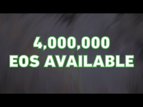 Help Us Earn 4,000,000 EOS Votes!