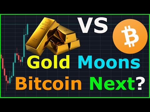 Will Bitcoin out perform Gold eventually? Gold Price Skyrockets!