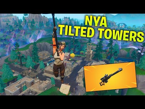 NEO TILTED ÄR BORTA! NY STAD & NY SNIPER! *FORTNITE UPDATE VIDEO*