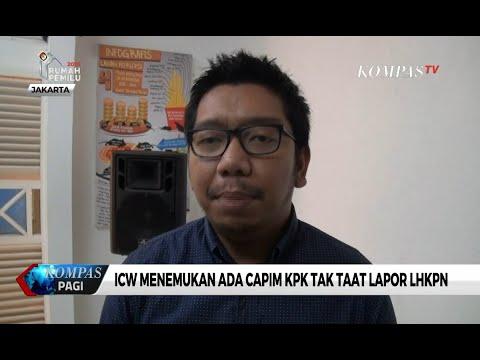ICW Temukan Ada Calon Pimpinan KPK Tak Taat Lapor Harta Kekayaan