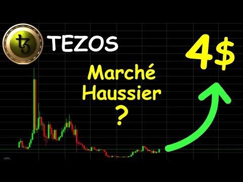 TEZOS LES 4$ ARRIVENT !?  analyse technique crypto monnaie bitcoin