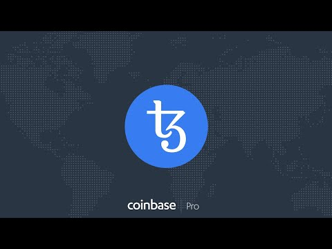 Tezos (#XTZ) On Coinbase Pro Aug 5