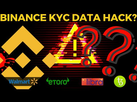Binance Data HACK   Walmart Coin   Chinese Libra   Bitcoin News
