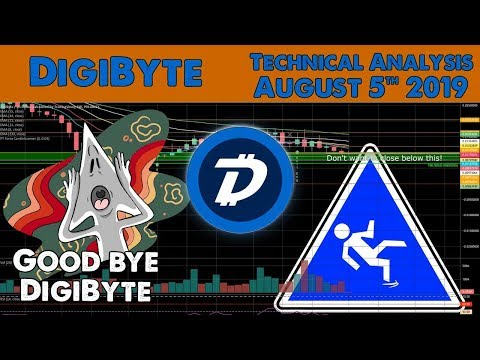 DigiByte will drop! – Technical Analysis – August 05 2019