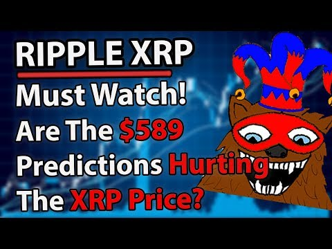 Ripple XRP: Are The $589 Predictions Hurting The Price?