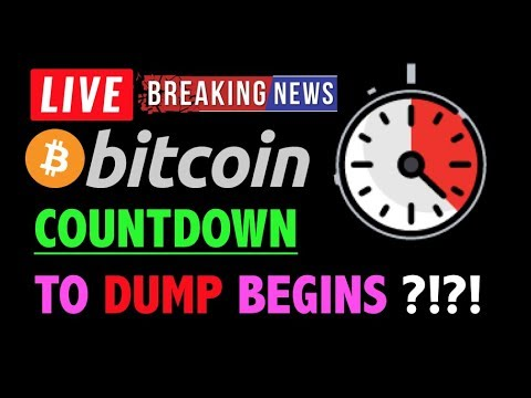 Bitcoin *COUNTDOWN TO DUMP BEGINS?!*❗️LIVE Crypto Trading Analysis & BTC Cryptocurrency Price News