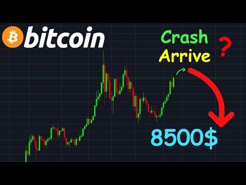 BITCOIN LE CRASH ARRIVE À 8500$ !? btc analyse technique crypto monnaie