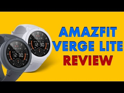 Amazfit Verge Lite review: Trendy smartwatch packed with powerful battery