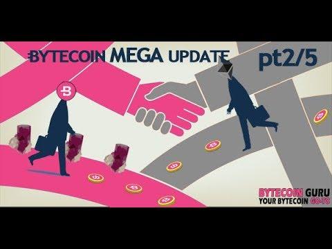 Bytecoin [BCN] News & Updates- [BYTECOIN MEGA UPDATE] || Bytecoin Guru