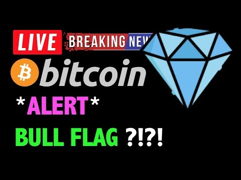 Bitcoin *BULL FLAG ALERT!* OR TOP OUT?❗️LIVE Crypto Trading Analysis & BTC Cryptocurrency Price News
