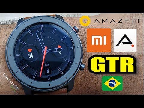 ★ Xiaomi Amazfit GTR – Agora eles Abusarammm!!! Que SmartWatch Lindooo!!! 😍
