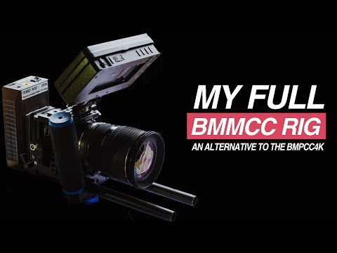 Complete BMMCC Rig – Blackmagic Micro Cinema Camera