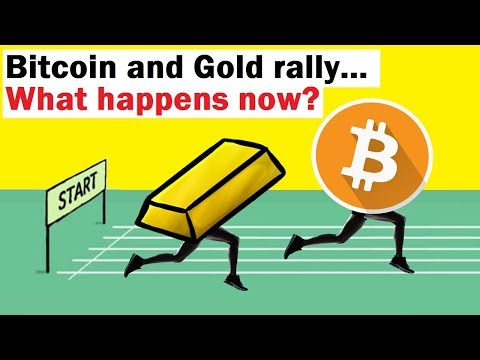 Bitcoin and Gold Rally… What Happens Now?