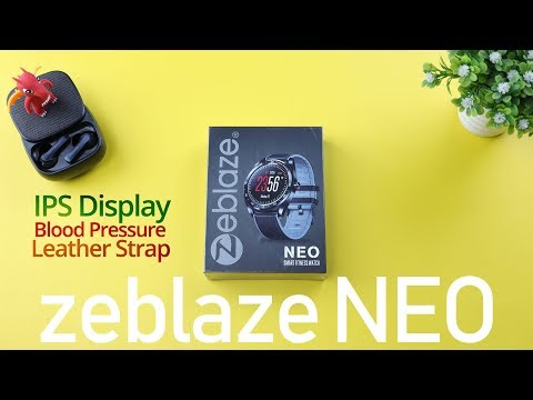 Zeblaze NEO, Smartwatch Layar IPS Bulat Sempurna dengan Gaya Baru