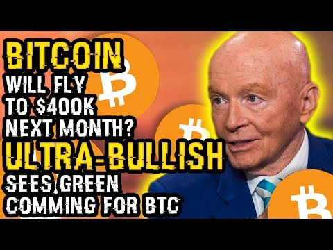 BITCOIN To FLY TO $400K NEXT MONTH? Why One ULTRA-BULLISH INVESTOR Sees MAJOR GREEN Coming For BTC!