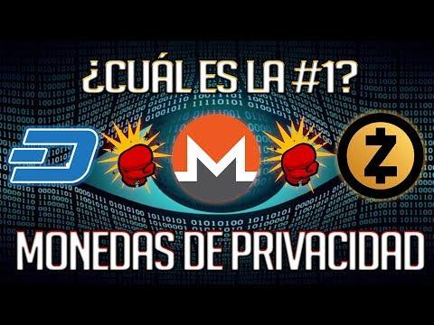 ✅La CRIPTOMONEDA de PRIVACIDAD #1 – Dash vs Zcash vs Monero