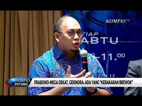 """Prabowo Dekat dengan Jokowi dan Megawati, Gerindra: Ada yang """"Kebakaran Brewok"""""""