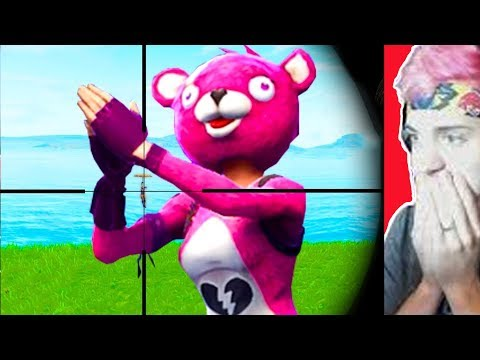 "Ninja Reacts to BCC Trolling's ""*1 IN 1 MILLION* GRENADE SNIPER SHOT!!"" (Fortnite)"