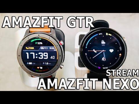 Amazfit GTR vs AMAZFIT Verge 2 (Nexo) Стрим.Разбор. Ответы.