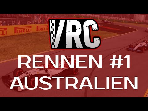 [GER] F1 2019 | VRC F1 & F2 LIGA [PS4] Rennen 1 (Sponsored by TEAM CILLERIAN)
