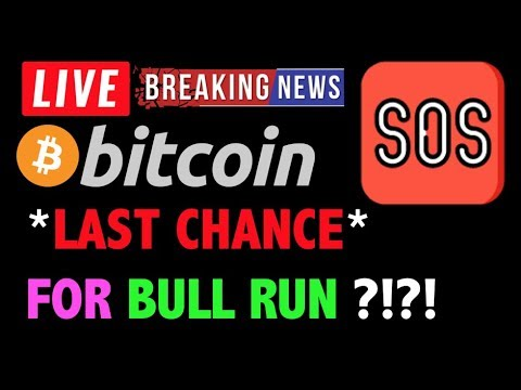 Bitcoin *ALERT* LAST CHANCE FOR BULLS?❗️LIVE Crypto Trading Analysis & BTC Cryptocurrency Price News