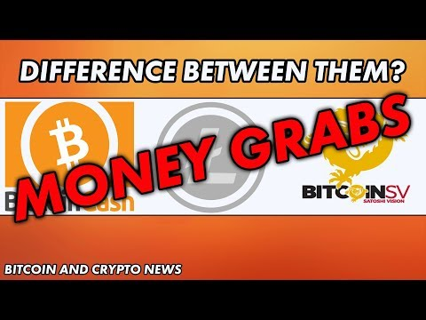 Bitcoin News – Biggest Difference Between Bitcoin Cash, Bitcoin SV and Litecoin?