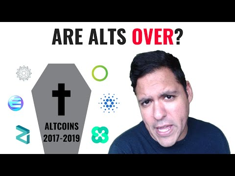 ARE ALTCOINS DEAD? ⚰️TIME TO SAY GOODBYE?
