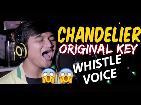 CHANDELIER – SIA COVERED BY RIDWAN (ORIGINAL KEY)