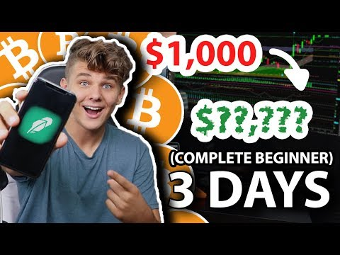 I Tried Day Trading Bitcoin for a Week | Beginner Crypto