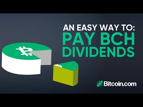 Tutorial: How to pay Bitcoin Cash Dividends – by Roger Ver