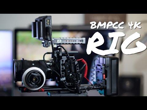 My BMPCC Rig Setup | Blackmagic Pocket Cinema Camera 4K Rig Tour