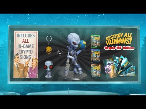 Destroy All Humans! – Crypto-137 Edition Trailer